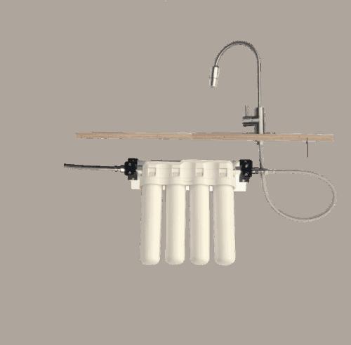 Ukato Quatro Wasserfilter mit Wasserhahn