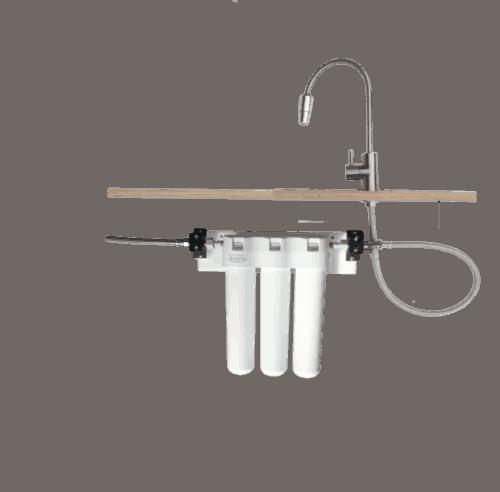 Ukato Trio Trinkwasserfilter mit Wasserhahn