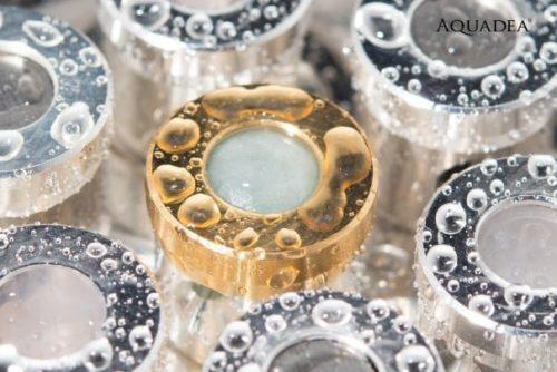 Wirbeldusche - True Self - Kristallwirbelkammer Nahaufnahme