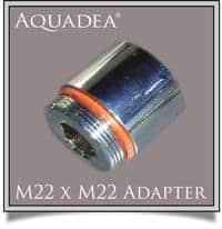 M22 AG auf M22 AG Doppelnippel