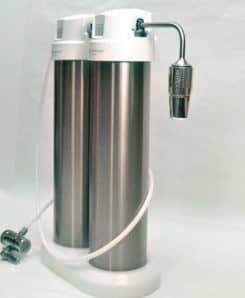 Okato Duo Edelstahl Trinkwasserfilter mit ToneOne