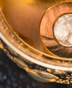 Trinkwasserwirbler Modul Trinity Gold Kristallwirbelkammer