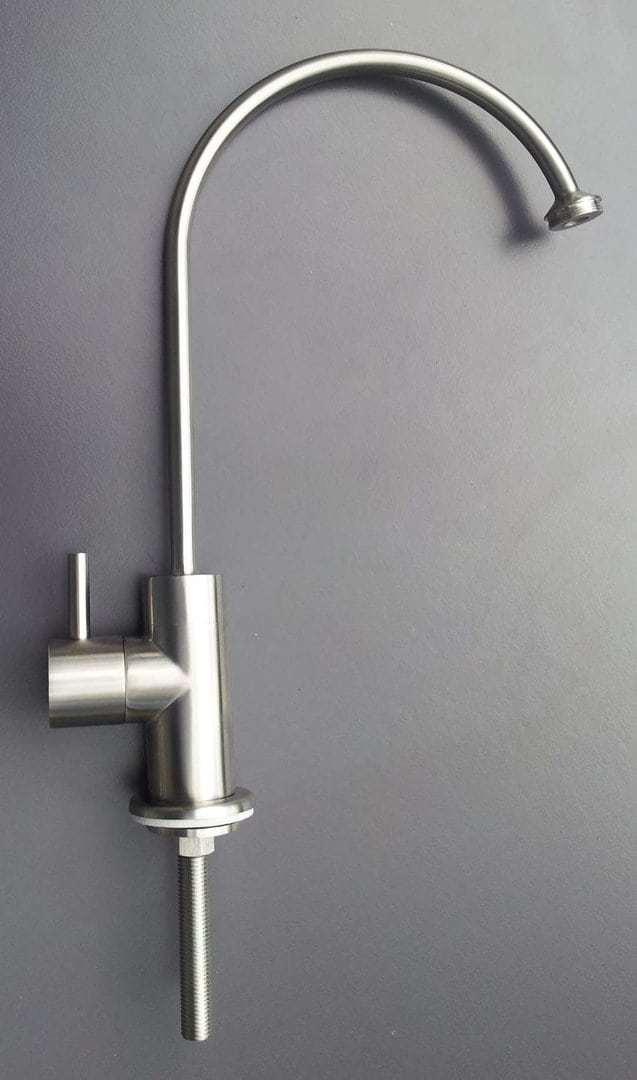 Lutara Trinkwasserhahn aus Edelstahl