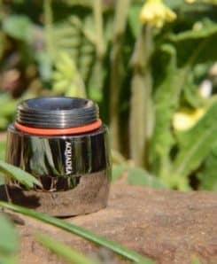 Trinkwasserwirbler Modul Ruthenium Sonne