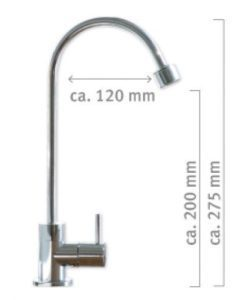 Novara Wasserhahn Abmessungen
