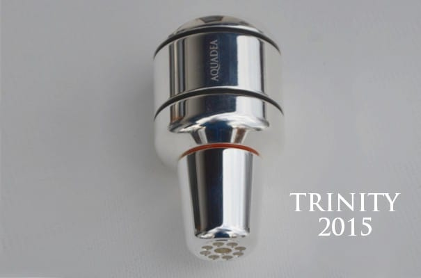 Trinkwasserwirbler Trinity Silber
