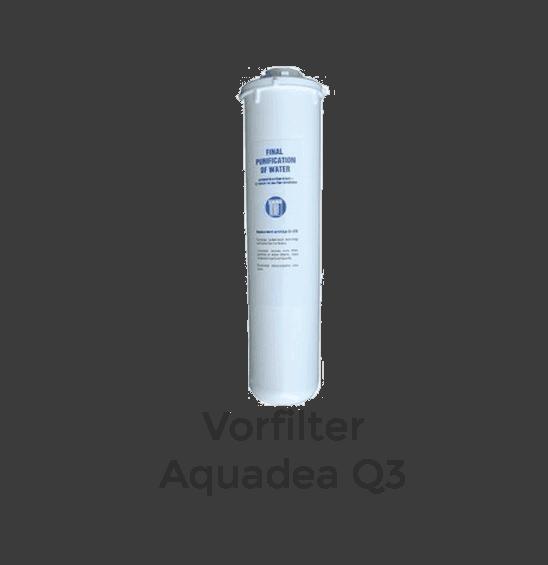 Aquadea Q3 Vorfilter