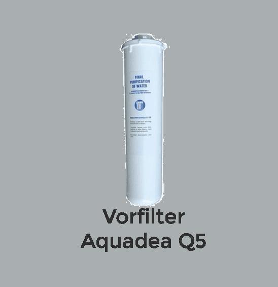 Aquadea Q5 Vorfilter