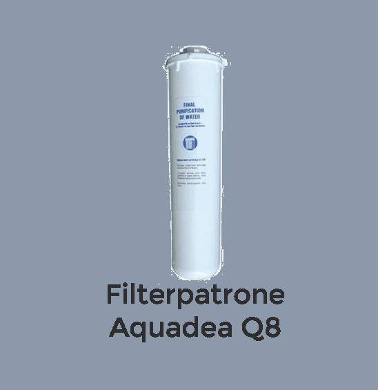 Filterpatrone Aquadea Q8 - Zusatzfilter