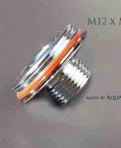 M12 AG auf M22 AG Gewindeadapter