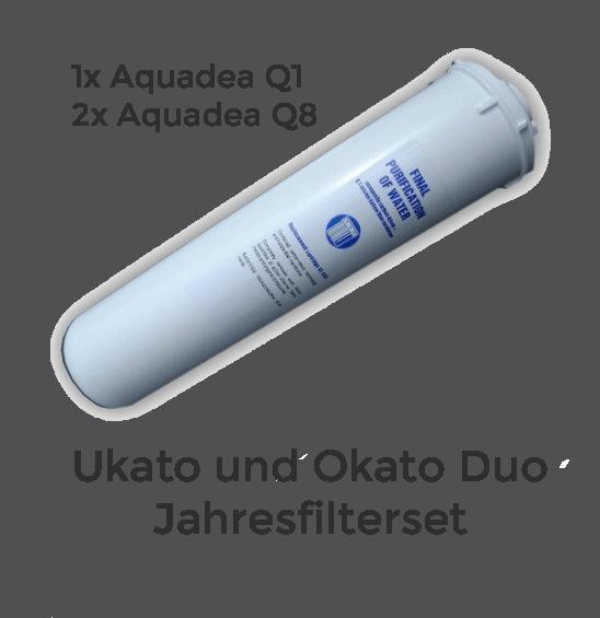 Okato Duo und Ukato Duo Jahresfilterset