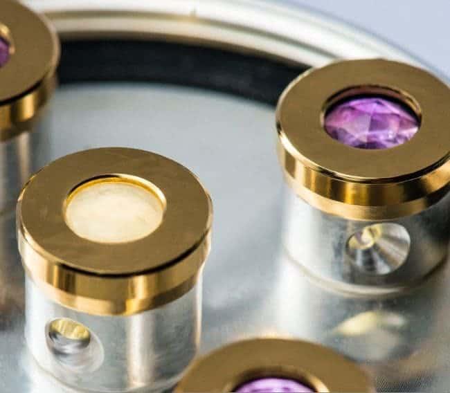 Wirbeldusche Skyfly 5 Silber Kristallwirbelkammern
