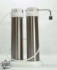 Okato Duo Edelstahl Trinkwasserfilter