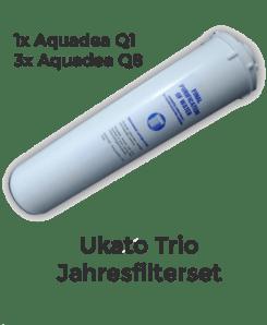 Ukato Trio Jahresfilterset