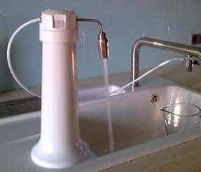 Okato Solo Trinkwasserfilter in Betrieb